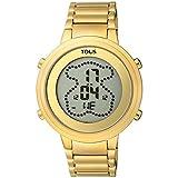 Reloj Tous 900350035 Digital Digibear de Acero IP Dorado