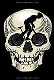 Notizbuch Fahrrad MTB Mountain-Biking Mountain Bike Mountainbike Skull  NOTEBOOK: Punkteraster Papier gepunktet - Dotted Dot grid Paper 120 Seiten DIN ... Sport  Downhill Mountain Bike Team Geschenk