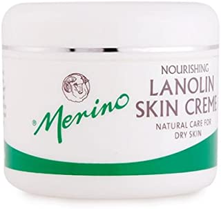 Dry Skin Lanolin Cream by Merino (100g/3.52oz Jar)