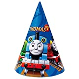 6 cappellini da festa Il trenino Thomas