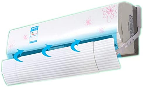 Air deflector for window air conditioner