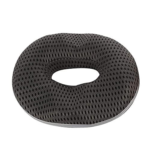 Best Goods Memory Foam Sitzkissen für Stuhlkissen Massagekissen Wohnkultur Coussin SteißbeinKissen Orthopädisches Design Entlasten Sie Ischias zurück (Gray)
