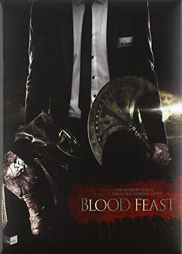 Blood Feast - Blutiges Festmahl - Wattiertes Mediabook - Cover C - 4-Disc Limited Soundtrack Edition auf 333 Stück - Unrated  (+ DVD) (+ CD) (+ Bonus-Blu-ray)