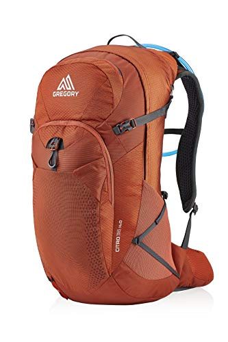 Gregory Mountain Products Men's Citro 36 H2O Hydration Backpack , Spark Orange