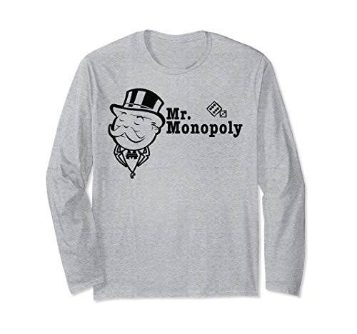 Monopoly Mr. Monopoly Portrait Manga Larga