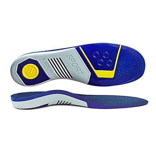 CosyInSofa Solette ortotiche a tutta lunghezza con supporti per arco Inserti ortotici per piedi piatti, solette per scarpe per fascite plantare, dolore ai piedi, solette leggere e confortevoli