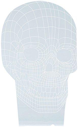 Motif 3D pour socle lumineux LS-7.3D - Crâne [Lunartec]