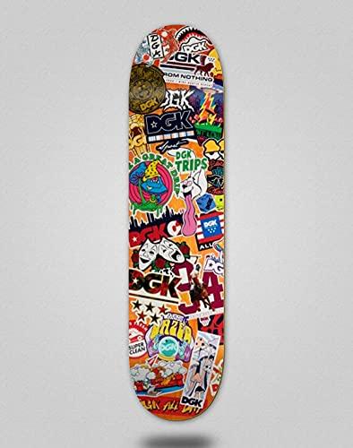 DGK Skateboard Deck Stix 8.0