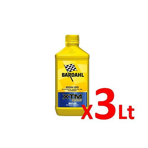 Bardahl Olio Moto XTM SYNT 20W-50 4 Tempi POLARPLUS 1 LITRO 360040 (3)