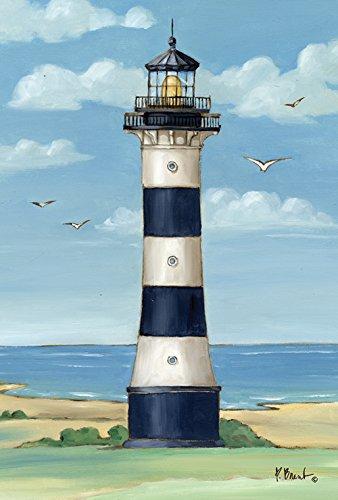Toland Home Garden Cape Canaveral Leuchtturm 71,1 x 101,6 cm Dekorative Küste Florida Möwe Vogelhaus Flagge