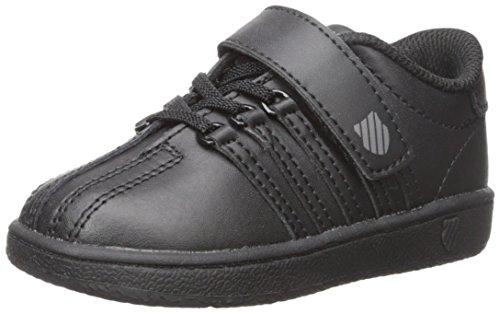 K-Swiss Kid's Classic VN VLC Shoe, Black/Black, 11 M US Little Kid