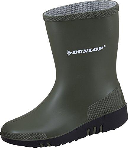 Dunlop Mini Kinder Gummistiefel Grün Gr. 27