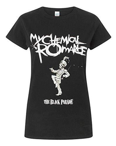 My Chemical Romance Banda de Manga Corta Desfile de Las Mujeres Camiseta