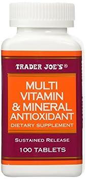 Trader Joe s Multi Vitamin & Mineral Antioxidant 100 Tablets