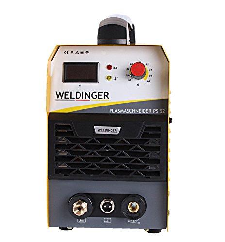 WELDINGER Plasmaschneider PS 52 Plasmaschneidgerät 40A bis 14mm - 4