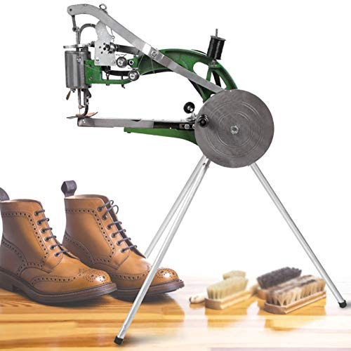 Changor Máquina Manual de reparación de Zapatos, máquina de Coser Simple Máquina de reparación de Zapatos Máquina de algodón de Metal