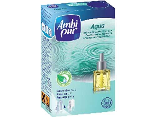 Ambipur 602997 - Recharche pour désodorisant électrique savon naturel