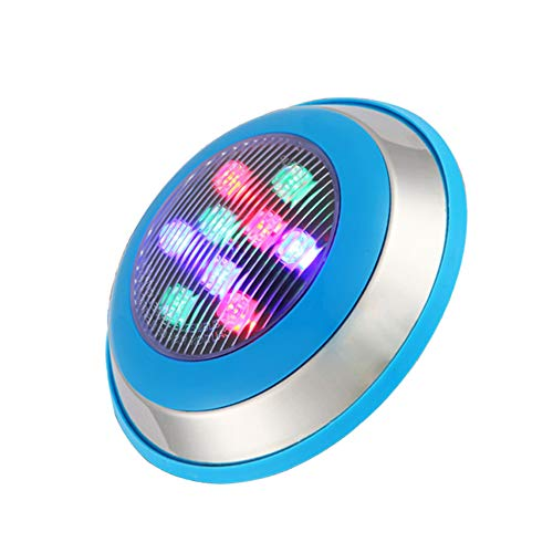 Modern Wall Wash Lights LED Stainless Steel Swimming Pool Wall lamp Underwater Light Waterproof 12V Colorful spotlights Wall-Mounted Pond Lights for Pool Fountain Landscape IP68