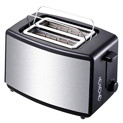 KM- Grille-pain Sl 2 tranches, avec bagel, annuler, fonction de dégivrage, grille-pain compact en acier inoxydable à fente extra-large