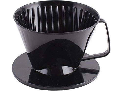 Randwyck Creative Tops plástico Taza, plástico, Negro, 2 Cup