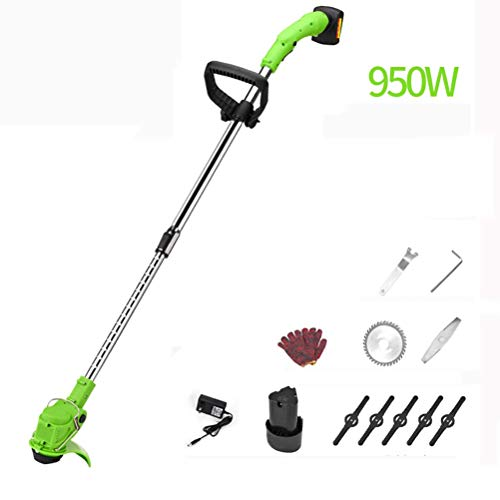 Buy ZXYSR Electric String Trimmer/Edger, Household Telescopic Lightweight Weed Eater, Brush Cutter w...