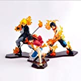KIACIYA Anime One Piece Figurine Luffy Ace Sabo Nouvelle WA