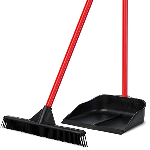 Tyroler Bright Tools Dustpan & Brush Made of 100% Natural Rubber