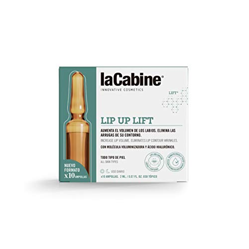 La Cabine Ampollas Lip Up Lift, 10x2ml