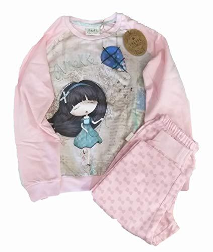 Anekke   Pijama de niña dos piezas rosa   Accesorios y Complementos para Mujer