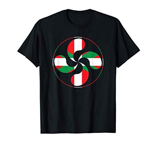 Paiz Vasco Espana Ikurrina Euskal Herria Europa Bandera Camiseta