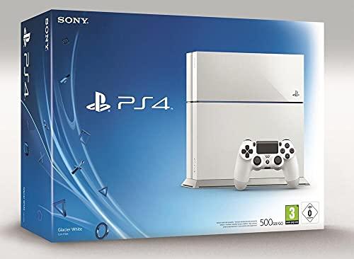 PS4 500 Go F White + Manette 2ème DualShock PS4 -...
