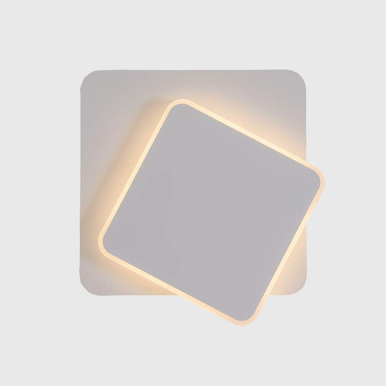 ZYY  Moderne LED-Wandleuchten Up Down Bedside Lighting Fixture Verstellbare zeitgenssische Wandleuchte Wandleuchte aus Acryl für Wohnzimmer Schlafzimmer Warmwei 3000K (Glühlampe enthalten) [Energie