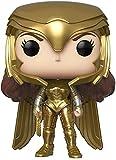 ¡Pop!: Wonder Woman 1984- Wonder Woman (Postura de Poder de Oro)