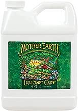 Mother Earth HGC733932 LiquiCraft Grow 4-3-3 Liquid Fertilizer for Vegetative Plants, Flowers and Tomatoes, Quart, Natural