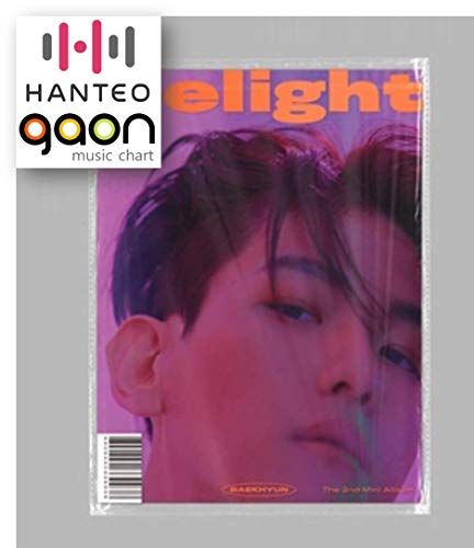 Baekhyun - Delight [Cinnamon ver.] (2nd Mini Album) [Pre Order] CD+Booklet+Folded Poster+Others with Extra Decorative Sticker Set, Photocard Set