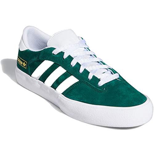 adidas Skateboarding Matchbreak Super, Collegiate Green-Footwear White-Gold Metallic, 11