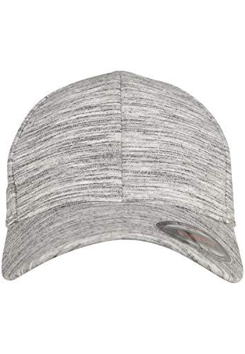 Flexfit Mütze Stripes Melange, Black/h.grey, S/M