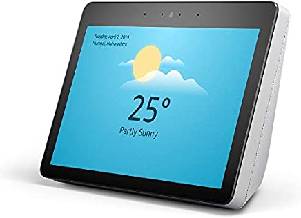 "Echo Show - Premium sound and a vibrant 10.1"" HD screen - White"