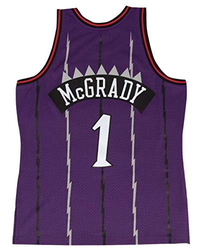 Tracy McGrady Toronto Raptors Men's Purple Hardwood Classics Swingman Jersey (3X)