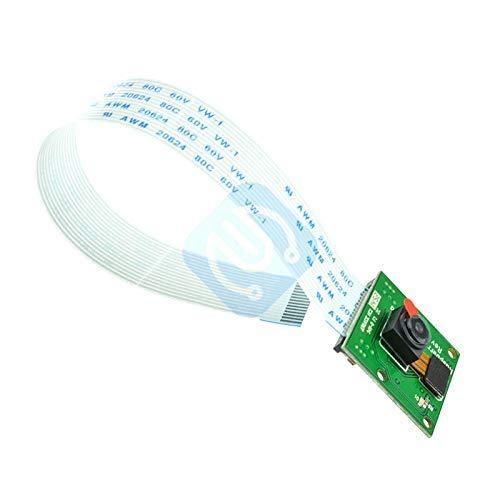 ZTSHBK Cámara Raspberry Pi 3 B + Módulo de cámara de 5 MP OV5647 Webcam + 15cm FFC Compatible para Raspberry Pi 3 Modelo B + Plus/Placa 3/2