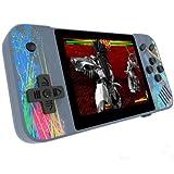 LXTWHJHZYY Consolas de Juego Retro de Mano con Pantalla Horizontal Nostalgia PSP Arcade Singles y Dobles 800 en una Consola de Juego de 3,5 Pulgadas