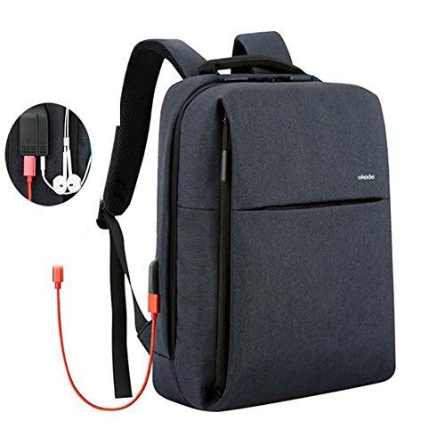 SUNSEATON Laptoprugzak, Zakelijke Antidiefstalrugzak met USB-Oplaadpoort, Laptoptas Lichtgewicht Professionele 15,6-inch Casual Rugzakken Voor Kantoor/Universiteit/Werk (Donkerblauw)