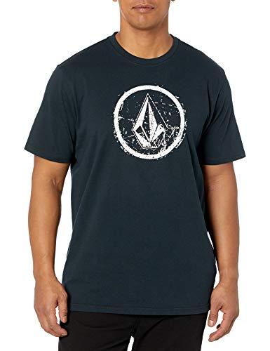Volcom Men's Ramp Stone Short Sleeve T-Shirt, Black, XX-Large