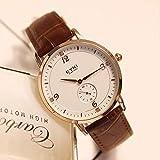 Tendencia De Moda para Mujer Reloj con Cinturón Impermeable Simple Reloj Accesorios Estudiante...
