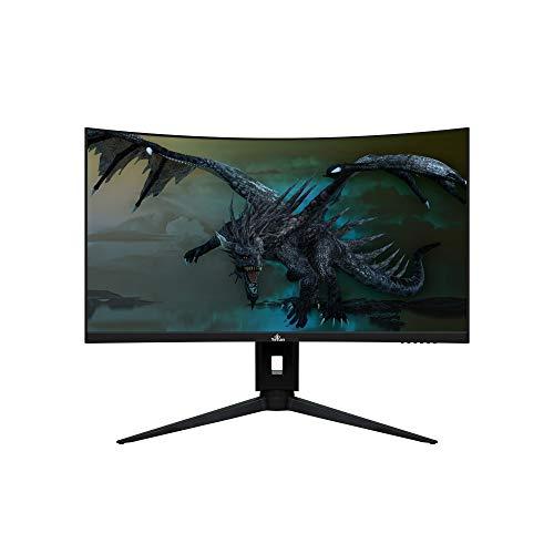 """YEYIAN YMC-70101 Moniteur incurvé Gaming 27"""" Sigurd, LED Full HD, 165 Hz, Résolution 3 HDMI, 1 DisplayPort, Port d'écran, Temps de réponse 1 ms, Résolution 1 920 x 1 080"""