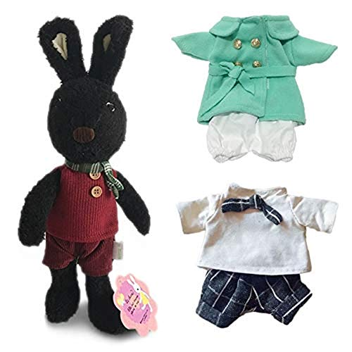 Lzadrv Conejo Kawaii Conejo Muñeca de Peluche con Camisa de Peluche de Peluche Juguete niño niña pasando un Regalo de Pareja de Regalo de cumpleaños de Juguete