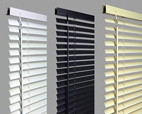 umlout New 60cm WHITE Pvc Venetian Blinds, AVAILABLE IN 10 SIZES AND 3 COLOURS Original branded