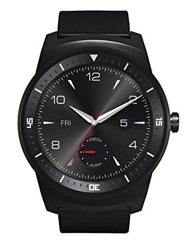 LG G Watch R Smartwatch - Schwarz
