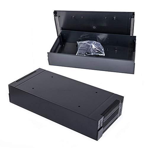 G17082UBK 19 Zoll ABS Gehäuse 2HE Rack Case schwarz Leergehäuse Gainta