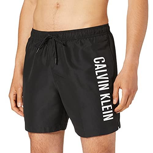 Calvin Klein Herren KM0KM00570,BEH,L Badehose, Pvh Schwarz, L/XL